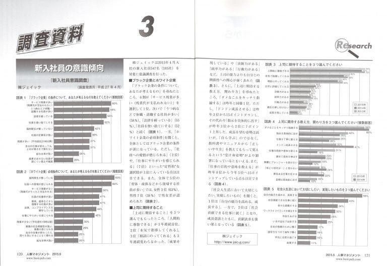 150601月刊人事マネジメント